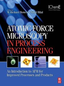 Ebook in inglese Atomic Force Microscopy in Process Engineering Bowen, W. Richard , Hilal, Nidal