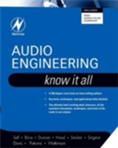 Foto Cover di Audio Engineering: Know It All, Ebook inglese di AA.VV edito da Elsevier Science