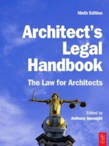 Ebook in inglese Architect's Legal Handbook -, -