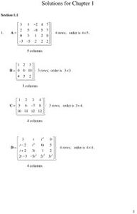 Ebook in inglese Student Solutions Manual, Matrix Methods Bronson, Richard , Costa, Gabriel B.