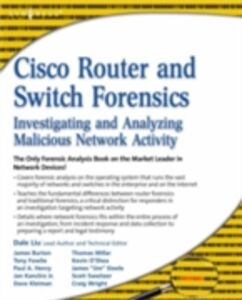 Ebook in inglese Cisco Router and Switch Forensics Liu, Dale