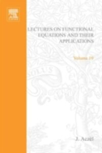 Ebook in inglese Lectures on functional equations and their applications