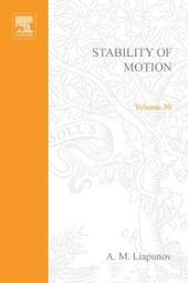 Stability of Motion by A M Liapunov