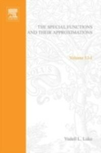 Foto Cover di Special Functions and Their Approximations: v. 1, Ebook inglese di  edito da Elsevier Science