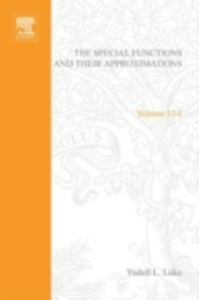 Ebook in inglese Special Functions and Their Approximations: v. 1 -, -