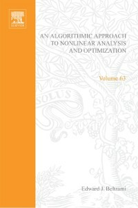 Ebook in inglese algorithmic approach to nonlinear analysis and optimization -, -