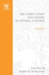 computation and theory of optimal control