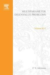 Multiparameter eigenvalue problems