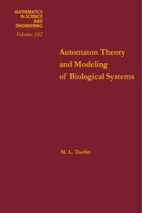 Ebook in inglese Automation theory and modeling of biological systems -, -