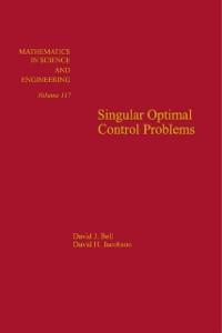 Ebook in inglese Singular Optimal Control Problems -, -