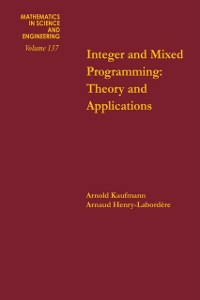 Ebook in inglese Integer and mixed programming : theory and applications -, -