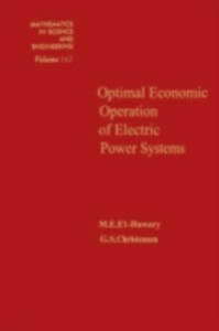 Ebook in inglese Optimal economic operation of electric power systems -, -