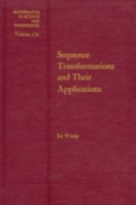 Ebook in inglese Sequence transformations and their applications -, -