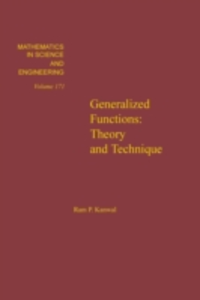Ebook in inglese Generalized functions : theory and technique -, -