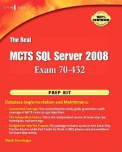 Ebook in inglese Real MCTS SQL Server 2008 Exam 70-432 Prep Kit -, -