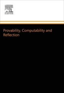 Ebook in inglese Provability, Computability and Reflection Beklemishev, Lev D.