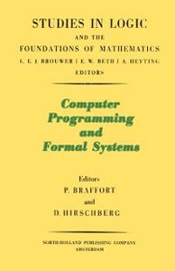 Ebook in inglese Computer Programming and Formal Systems Beklemishev, Lev D.