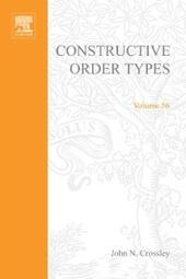 Constructive order types