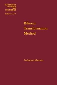 Ebook in inglese Bilinear transformation method -, -