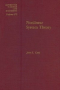 Ebook in inglese Nonlinear system theory -, -