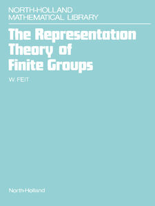 Ebook in inglese The Representation Theory of Finite Groups Feit, W.