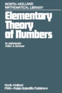 Ebook in inglese Elementary Theory of Numbers Sierpinski, W.