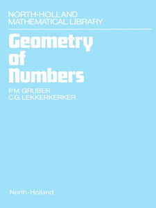 Ebook in inglese Geometry of Numbers Gruber, Pascale , Lekkerkerker, C.G.