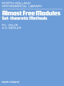 Foto Cover di Almost Free Modules, Ebook inglese di P.C. Eklof,A.H. Mekler, edito da Elsevier Science