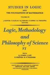 Logic, Methodology and Philosophy of Science VI
