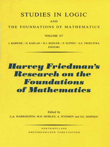 Ebook in inglese Harvey Friedman's Research on the Foundations of Mathematics -, -