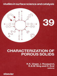 Ebook in inglese Characterization of Porous Solids