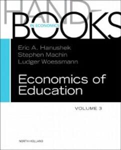 Foto Cover di Handbook of the Economics of Education, Ebook inglese di  edito da Elsevier Science