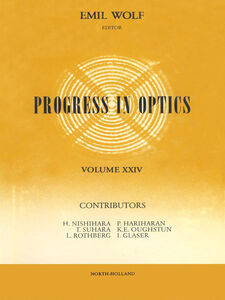 Foto Cover di Progress in Optics Volume 24, Ebook inglese di  edito da Elsevier Science
