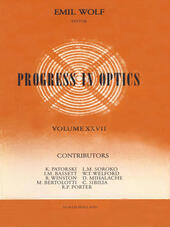 Progress in Optics Volume 27