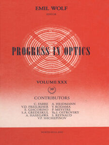Ebook in inglese Progress in Optics Volume 30