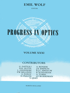 Ebook in inglese Progress in Optics Volume 31 -, -