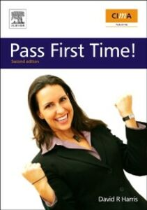 Ebook in inglese CIMA: Pass First Time! Harris, David