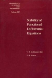 Ebook in inglese Stability of Functional Differential Equations Unknown, Author
