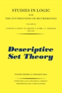 Foto Cover di Descriptive Set Theory, Ebook inglese di Y.N. Moschovakis, edito da Elsevier Science