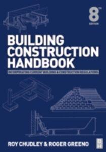 Ebook in inglese Building Construction Handbook Chudley, Roy , Greeno, Roger