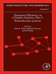 Ebook in inglese Quantum Efficiency in Complex Systems, Part I -, -
