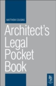 Ebook in inglese Architect's Legal Pocket Book Cousins, Matthew