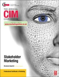 Ebook in inglese CIM Coursebook Stakeholder Marketing Gledhill, Michelle