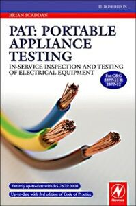 Ebook in inglese PAT: Portable Appliance Testing Scaddan, Brian