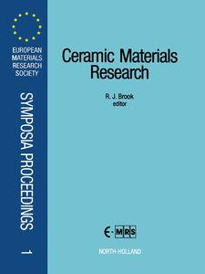 Ebook in inglese Ceramic Materials Research -, -