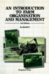 Ebook in inglese Introduction to Farm Organisation & Management Buckett, M.