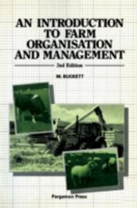 Ebook in inglese Introduction to Farm Organisation & Management Buckett, M.