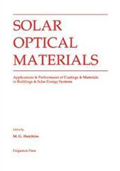 Solar Optical Materials