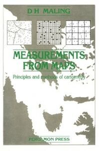 Ebook in inglese Measurements from Maps Maling, D H