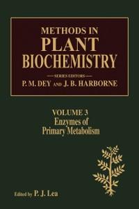 Ebook in inglese Enzymes of Primary Metabolism -, -